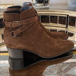 Saint Laurent Women's Brown Boots 38